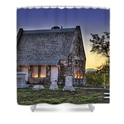 Riverside Cemetery Shower Curtain
