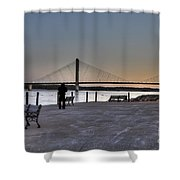 Riverwalk Shower Curtain