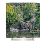 Riverwalk Park Shower Curtain