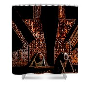 Rivets Number Three Shower Curtain by Bob Orsillo