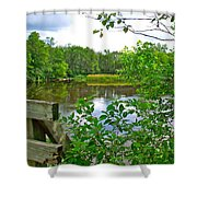 Rivier Du Nord In The Laurentians-qc Shower Curtain