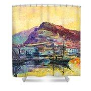 Riviera Di Ponente Shower Curtain