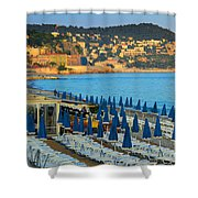 Riviera Full Moon Shower Curtain