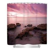 Riviera Maya Sunrise Shower Curtain