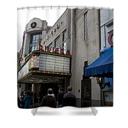 Riviera Theatre Charleston South Carolina Shower Curtain