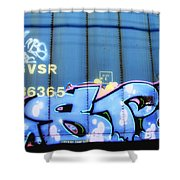 Rivoted Canvas Shower Curtain