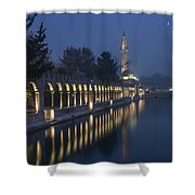 Rizvaniye Mosque And Halil-u Rahman Shower Curtain