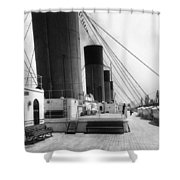 Rms Olympic, C1911 Shower Curtain