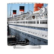 Rms Queen Mary Shower Curtain