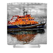 Rnlb 17-28 Brixham Shower Curtain