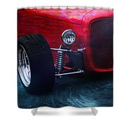 Road Rod  Shower Curtain
