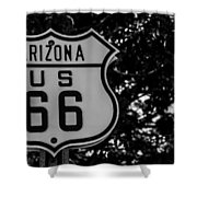 Road Sign 2 Shower Curtain
