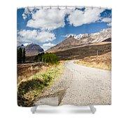Road To Beinn Eighe Shower Curtain