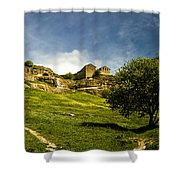 Road To Chufut-kale Shower Curtain