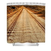 Road To Everywhere Shower Curtain
