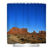 Road To Monument Valley V2 Shower Curtain