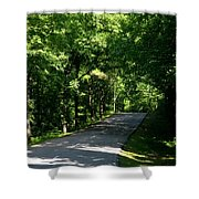 Road To Nature Shower Curtain