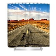 Road To Navajo Shower Curtain