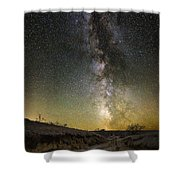 Road To Nowhere - Great Rift Shower Curtain