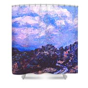 Road To Rocky Knob Shower Curtain