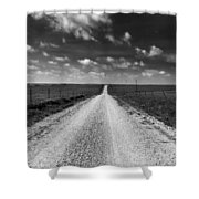 Road To Texaco Hill Shower Curtain