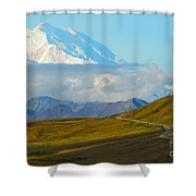 Road To The High One Shower Curtain