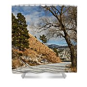 Road To The Lake Shower Curtain