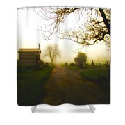 Road To The Mausoleum Shower Curtain