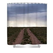 Road To The Rain Shower Curtain