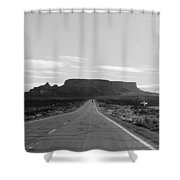 Road To The Rock Shower Curtain