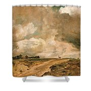 Road To The Spaniards. Hampstead Shower Curtain