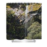 Roadside Falls Shower Curtain
