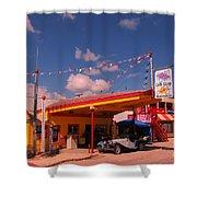 Roadside Near Deadwood South Dakota Shower Curtain