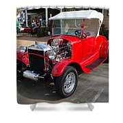Roadster Redone For Fun Shower Curtain