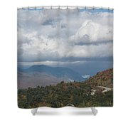 Roadway To Lincoln Shower Curtain