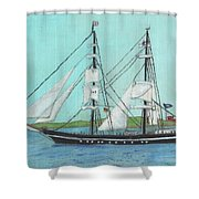 Roald Amundsen Shower Curtain
