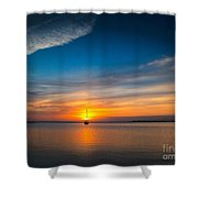 Roanoke Dawn Shower Curtain