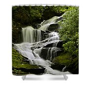 Roaring Creek Falls Shower Curtain