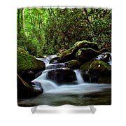 Roaring Fork Waters Shower Curtain