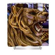 Roaring Lion Ride Shower Curtain