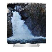 Roaring River Falls Shower Curtain