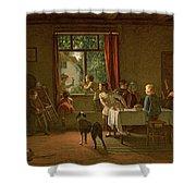 Roast Pig, 1862 Shower Curtain