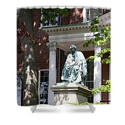 Robert Brooke Taney Statue - Maryland State House  Shower Curtain