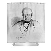 Robert Brown Shower Curtain