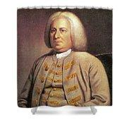 Robert Dinwiddie (1693-1770) Shower Curtain