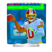 Robert Griffin IIi   Rg 3 Shower Curtain
