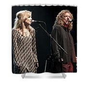 Robert Plant And Alison Kraus Shower Curtain