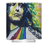 Robert Plant.. Led Zeppelin Shower Curtain