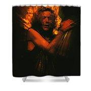 Robert Plant Led Zeppelin Shower Curtain