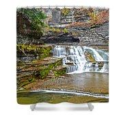 Robert Treman Waterfall Shower Curtain
